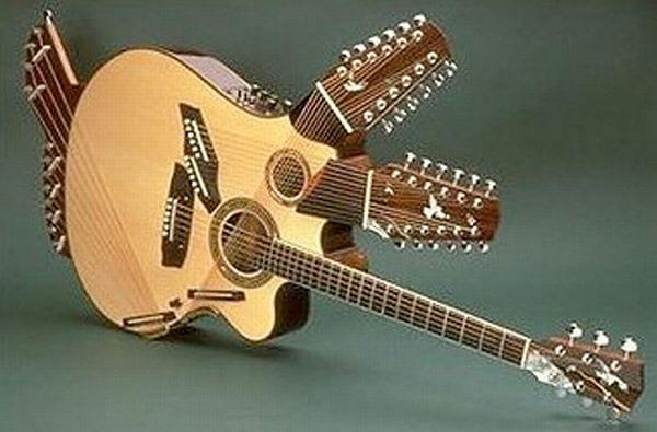 Pikasso guitar