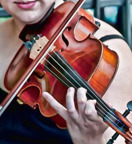 Violin tuning