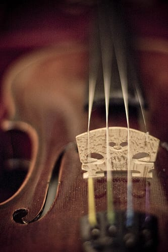 How to use rosin on violin strings