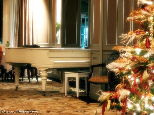 winter piano