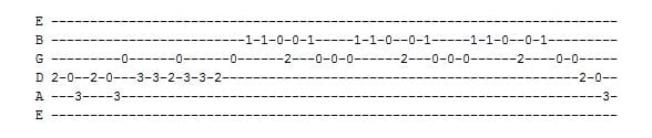 three blind mice guitar tab
