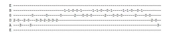 Three Blind Mice Guitar Tab