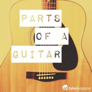 Different Parts of a Guitar