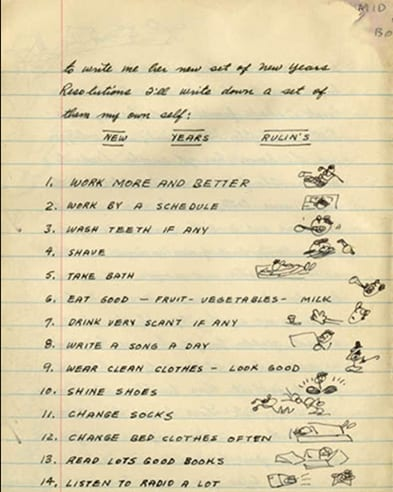 woody guthrie new years resolutions