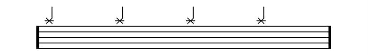 drum sheet music ride symbol