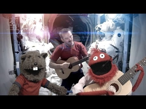 Video thumbnail for youtube video Puppets Sing David Bowie in Space for Science and Your Amusement