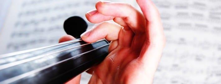 Violin Finger Placement