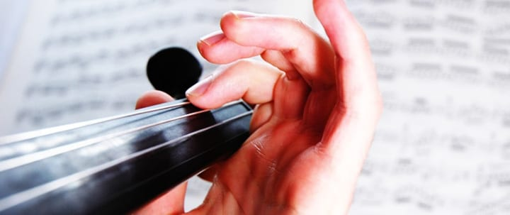 Violin Finger Placement