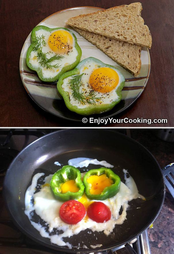 fried egg pinterest fail