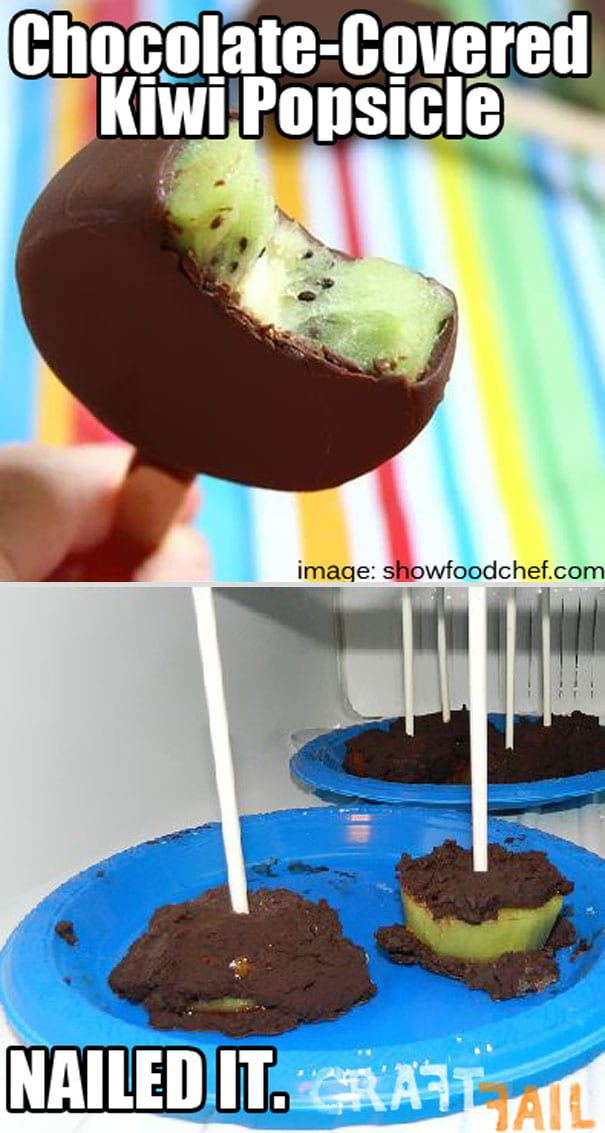 kiwi popsicle pinterest fail