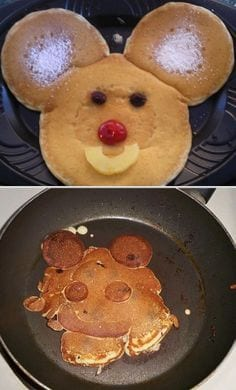 pancake pinterest fail