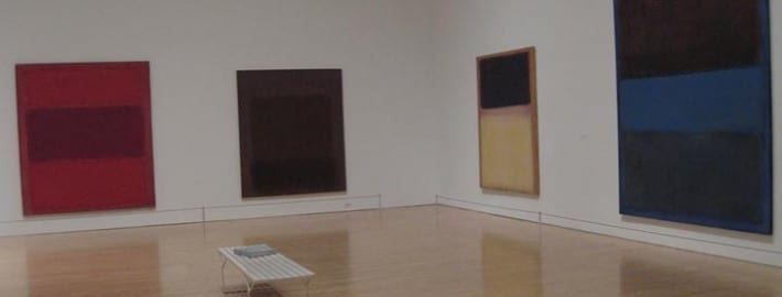 Paintings at the Permanent Collection, Museum of Contemporary Art, Los Angeles