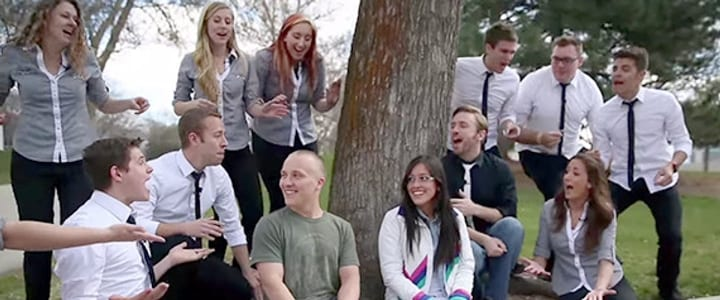 """Kiss the Girl"" Prank Proves Music Can Make Any Day Magic"