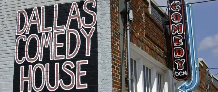 Comedy Clubs In The Dallas - Fort Worth Area