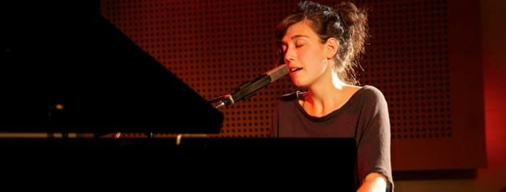 singing and piano