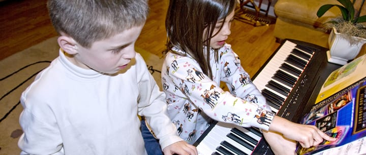 Top Five Piano Songs For Kids