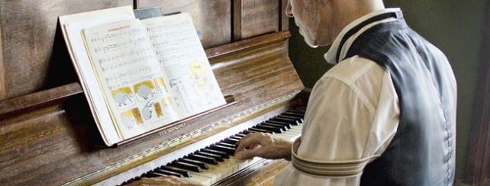 Practising the Piano