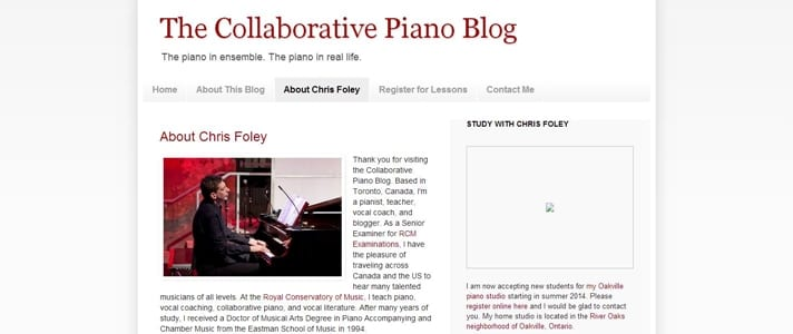 Collaborate Piano Blog