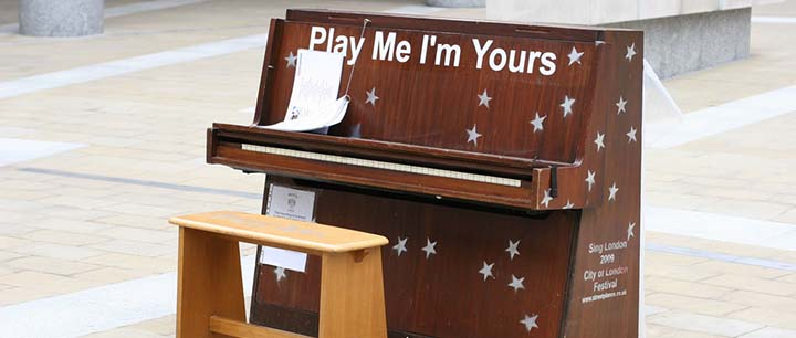 Play Me, I'm Yours: The History of Pianos as Street Art