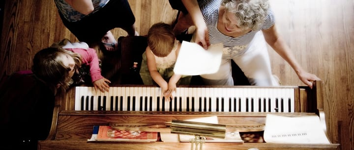 learning piano keeping young students excited