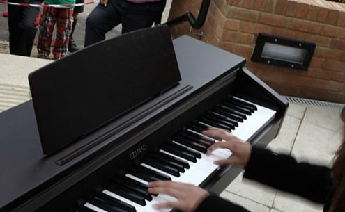 Piano playing at Palewell