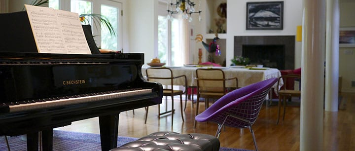 Where is the best place in the house to put a piano for How to place a piano in a room