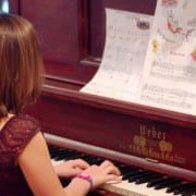 Holiday piano music