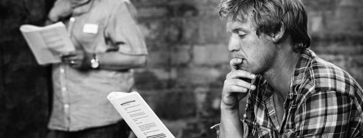 cold reading a script
