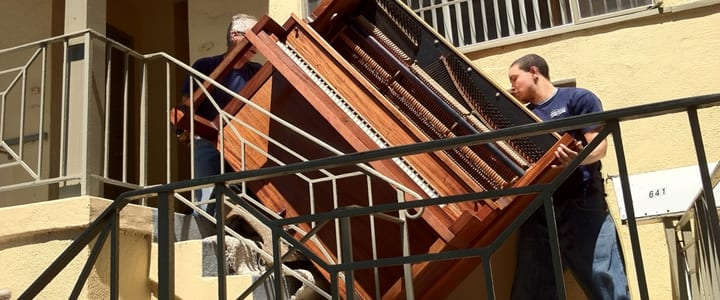 How to Safely Store or Move a Piano | Caring For Your Piano