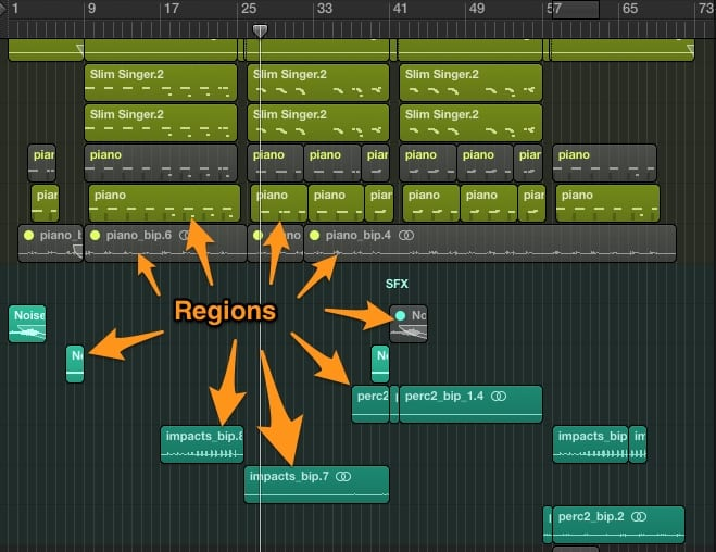 Logic Pro Tutorial: How To Create An Audio Slow-Down Effect