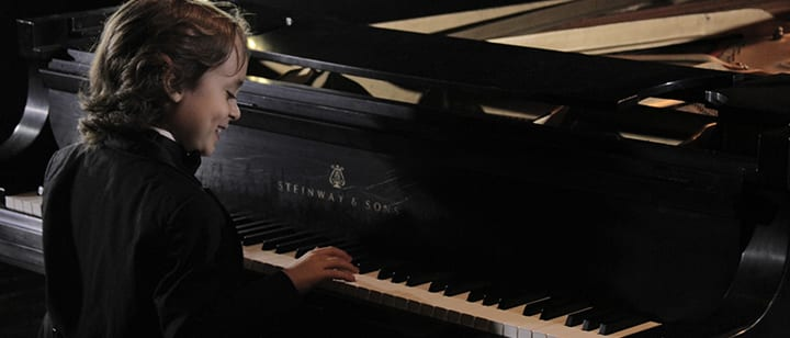 Piano Inspiration: 7-Year-Old Piano Prodigy Set to Release His First Album