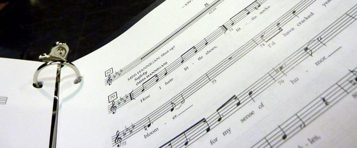 Your Vocal Music Binder | How to Organize Your Sheet Music