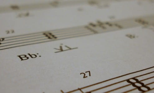 Music Theory Homework.