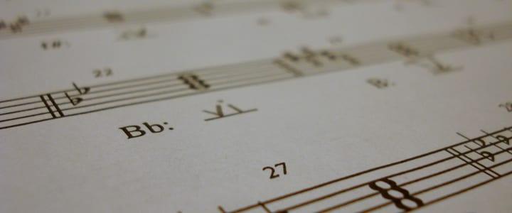 Music Theory Homework.