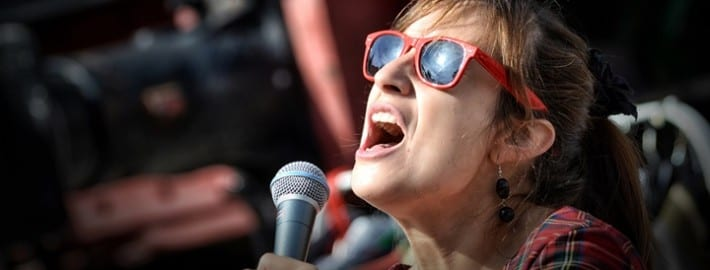 Why you may feel tense when you sing and what to do about it
