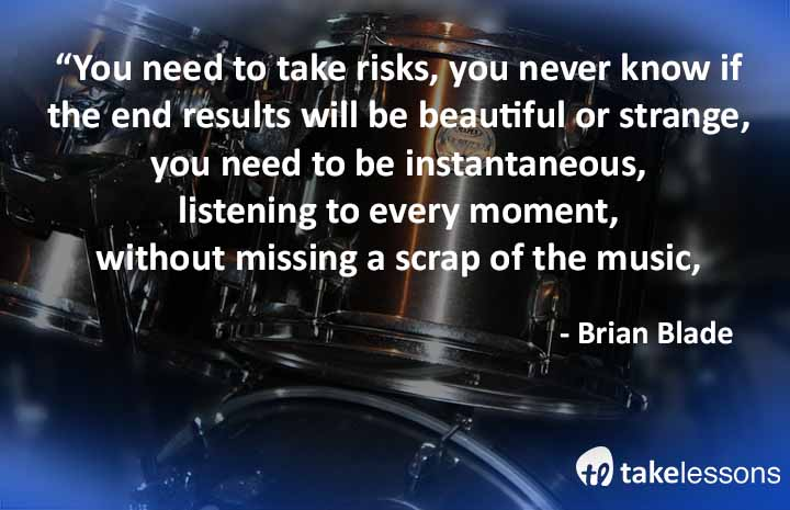 You need to take risks