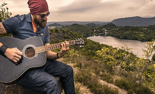 easy bluegrass guitar songs