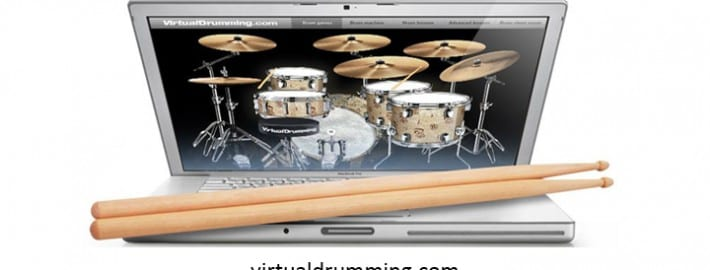 play drums online the best virtual drum sets and games. Black Bedroom Furniture Sets. Home Design Ideas