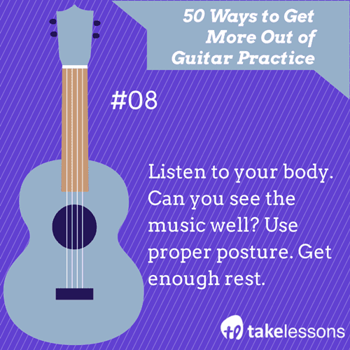8: 50 Ways to Get More Out of Guitar Practice