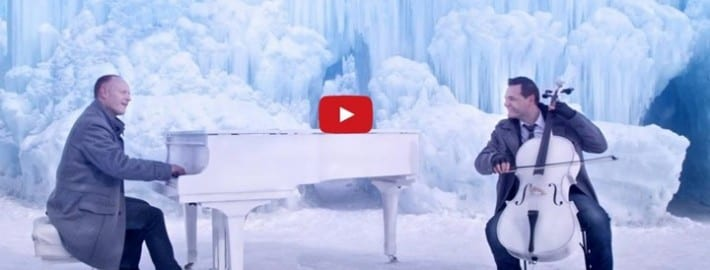 Artists like the Piano Guys on YouTUbe