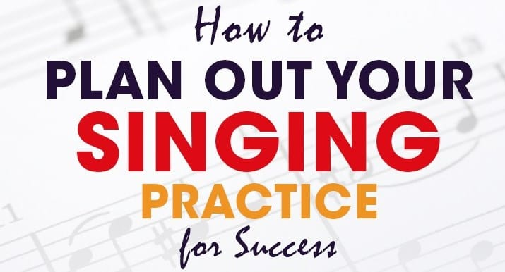 singing practice infographic