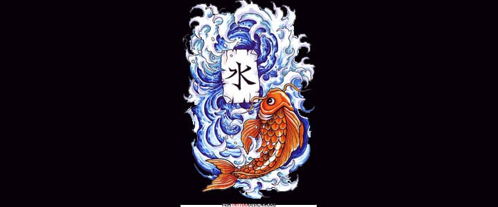 The 9 most popular kanji tattoos for Live dragon koi fish