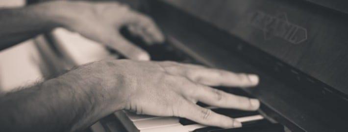 YouTube piano tutorial