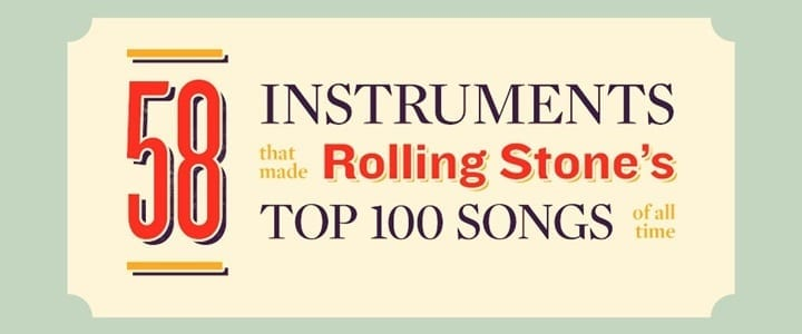 Can You Identify the Weird Instruments Featured in Rolling Stone's Top-100?