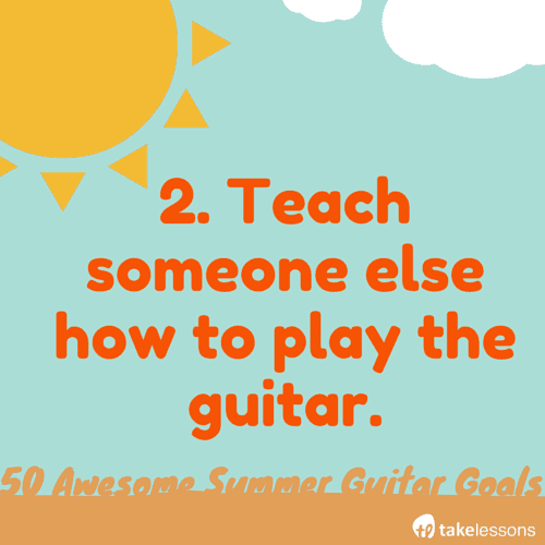 how to teach someone to play guitar