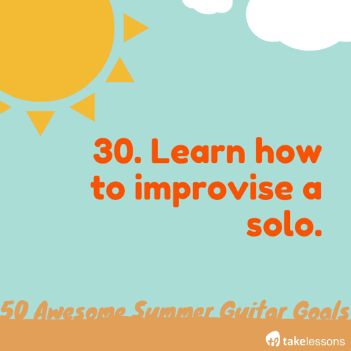 50 Awesome Summer Guitar Goals