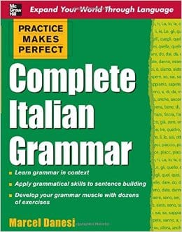 Top 5 Italian Books for Learning Grammar and Vocabulary