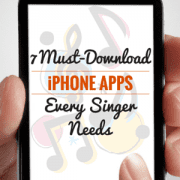 Singing Apps