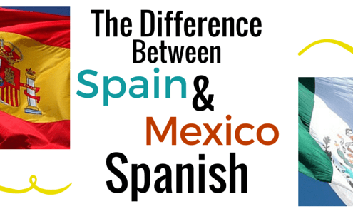 Difference between Spain and Mexico Spanish Header