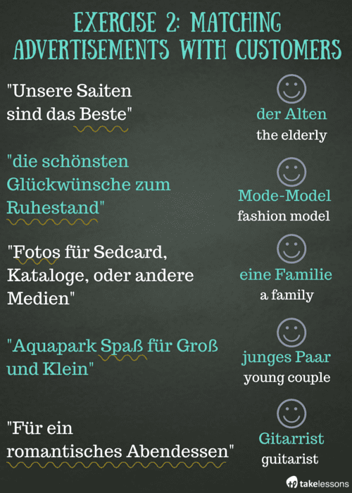 Ex 2- 3 Easy Exercises to Improve Your German Vocabulary 3